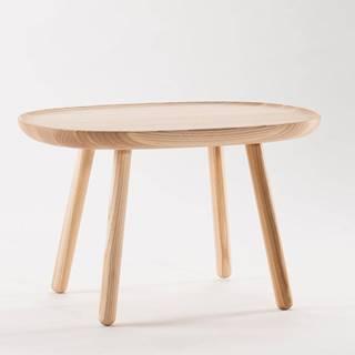 Prírodný stolík z masívu EMKO Naïve, 61 x 41 cm