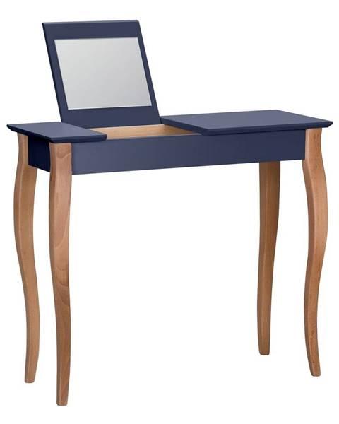 Ragaba Grafitovosivý toaletný stolík sozrkadlom Ragaba Dressing Table,dĺžka85cm