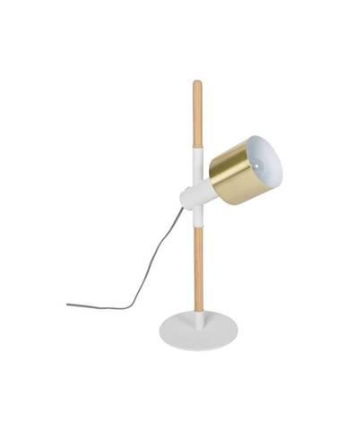 Biela stolová lampa Zuiver Ivy