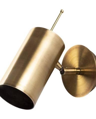 Nástenné svietidlo v zlatej farbe Opviq lights Kem Tube