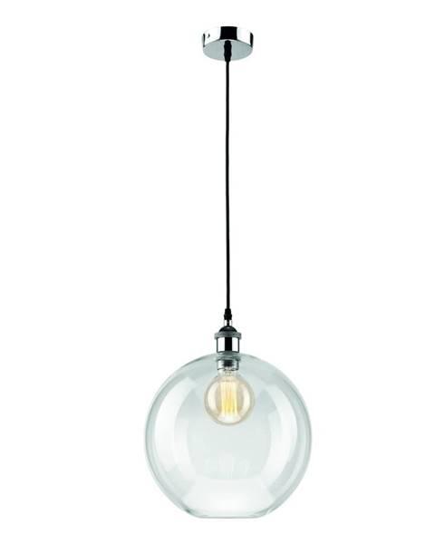 LAMKUR Sklenené závesné svietidlo Lamkur Ball