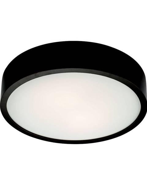 LAMKUR Čierne kruhové stropné svietidlo Lamkur Plafond, ø 37 cm