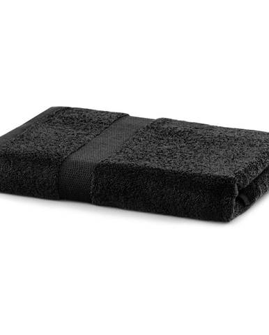 Čierny uterák DecoKing Marina, 70 × 140 cm