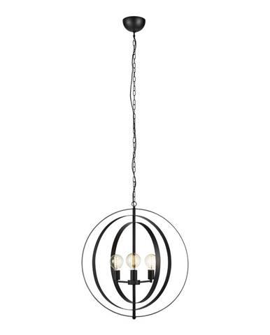 Závesné svietidlo Markslöjd Orbit Pendant 3L Black