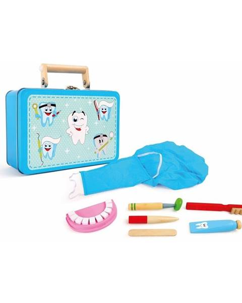 Legler Drevený hrací set pre malých zubárov Legler Dentist