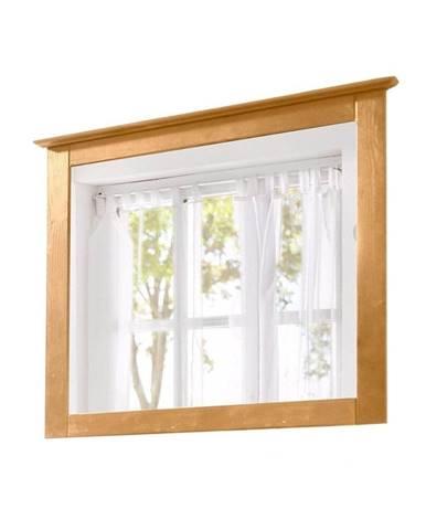 Zrkadlo s rámom z masívneho borovicového dreva Støraa Amanda