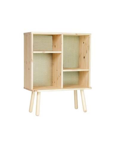 Komoda z borovicového dreva v prírodnej farbe Karup Design Kyabi