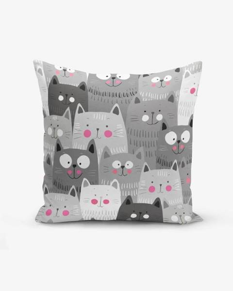 Minimalist Cushion Covers Obliečka na vankúš s prímesou bavlny Minimalist Cushion Covers Catty, 45 × 45 cm