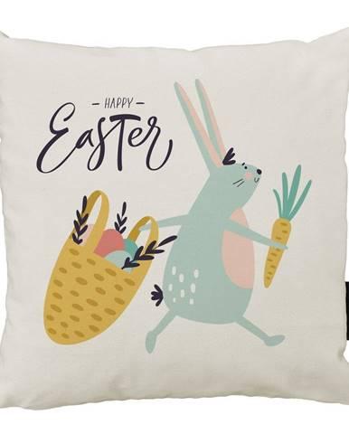 Vankúš Butter Kings z bavlny Easter Harvest, 45 x 45 cm