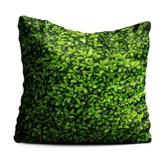 Zelený polštář Oyo home Ivy, 40x40cm