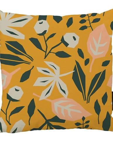 Vankúš Butter Kings z bavlny Square Plants, 45 x 45 cm