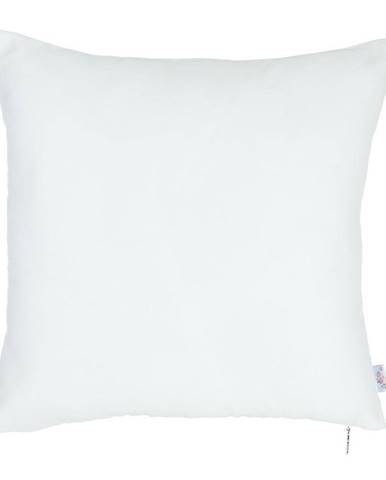 Biela obliečka na vankúš Mike&Co.NEWYORK Simple, 43 × 43 cm