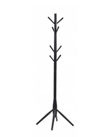 Čierny drevený vešiak Rowico Python