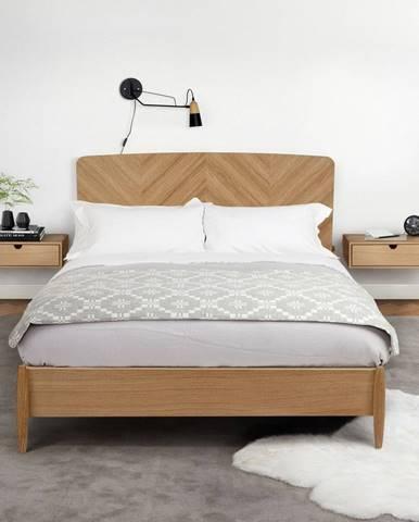 Nástenný nočný stolík Woodman Farsta Wall Bedside