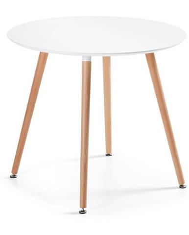 Jedálenský stôl z bukového dreva La Forma Daw, ⌀100cm