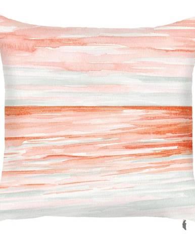 Obliečka na vankúš Mike&Co.NEWYORK Coral Land, 43 × 43 cm