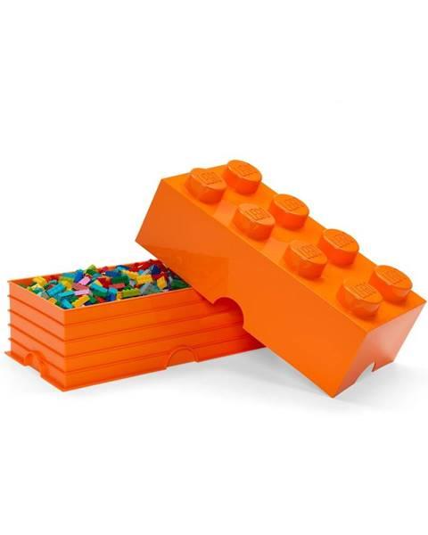 LEGO® Oranžový úložný box LEGO®