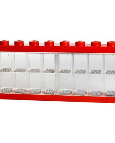 Červená zberateľská skrinka na 16 minifigúrok LEGO®