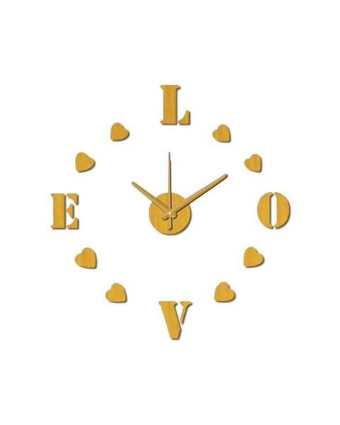 Mauro Ferretti Nástenné nalepovacie hodiny Mauro Ferretti Love, ⌀ 60 cm