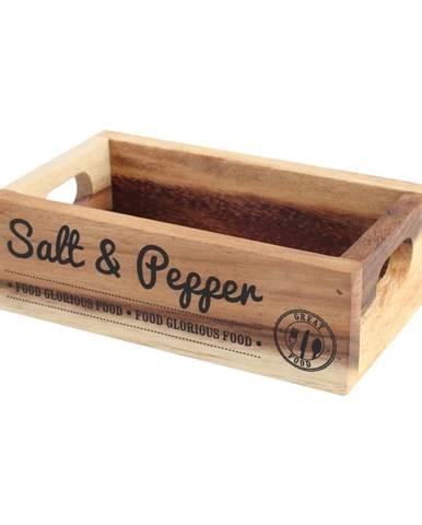 Stojanček na soľ a korenie z akáciového dreva T&GWoodware Glorious