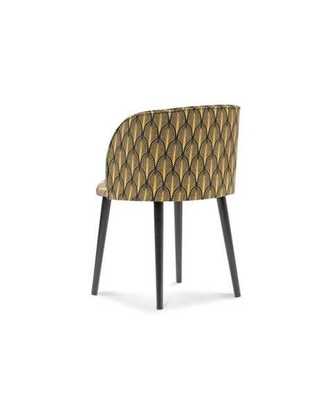 Windsor & Co Sofas Jedálenská stolička so zamatovým poťahom Windsor & Co Sofas Aurora