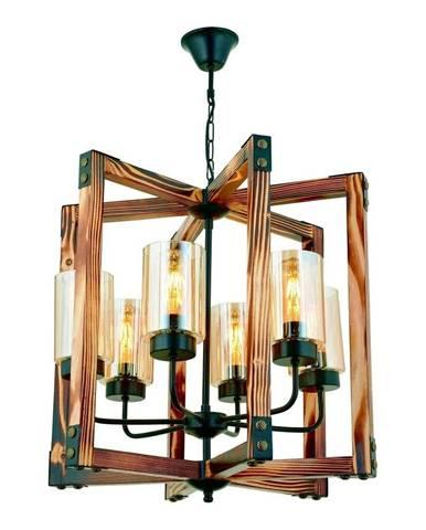 Závesné svietidlo z hrabového dreva Tubo