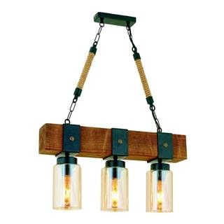 Závesné svietidlo z hrabového dreva Simona