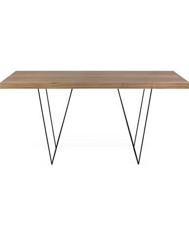 Pracovný stôl s kovovými nohami TemaHome Multi, 160 x 90 cm