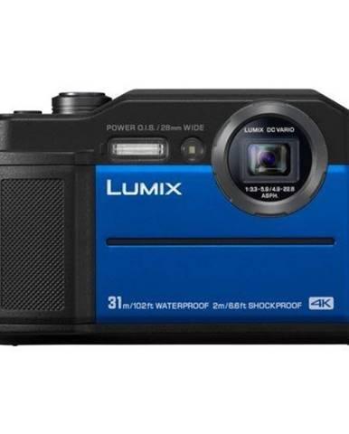 Digitálny fotoaparát Panasonic Lumix DC-FT7 modr