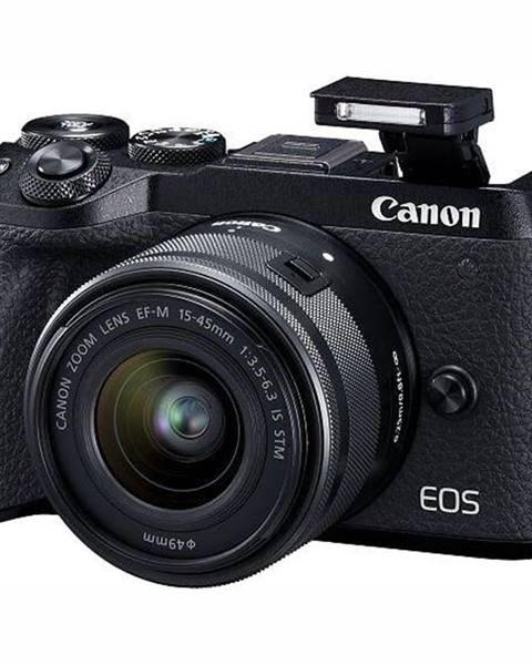 Canon Digitálny fotoaparát Canon EOS M6 Mark II + EF-M 15-45 mm IS STM +