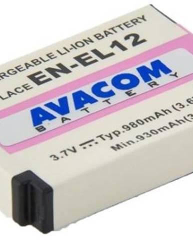Batéria Avacom Nikon EN-EL12 Li-ion 3,7V 980mAh