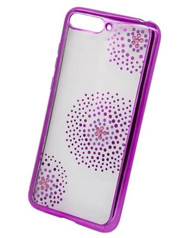 Kryt na mobil Beeyo Flower Dots na Honor 7A ružový