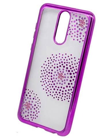 Kryt na mobil Beeyo Flower Dots na Huawei Mate 10 Lite ružový