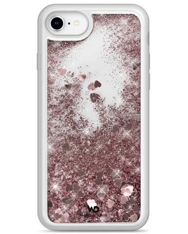 Kryt na mobil White Diamonds Sparkle Hearts na Apple iPhone SE