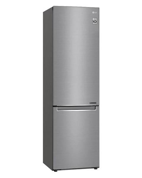 LG Kombinácia chladničky s mrazničkou LG Gbb72pzefn  strieborn