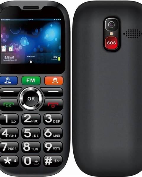 CUBE 1 Mobilný telefón Cube 1 S100 Senior Dual SIM čierny