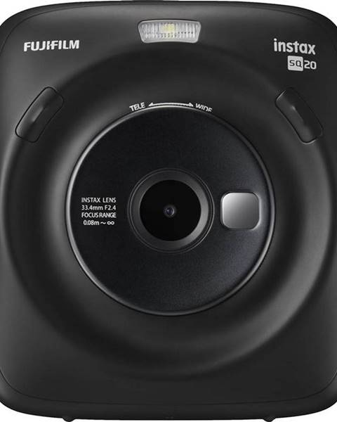 Fujifilm Digitálny fotoaparát Fujifilm Instax Square SQ 20 čierny