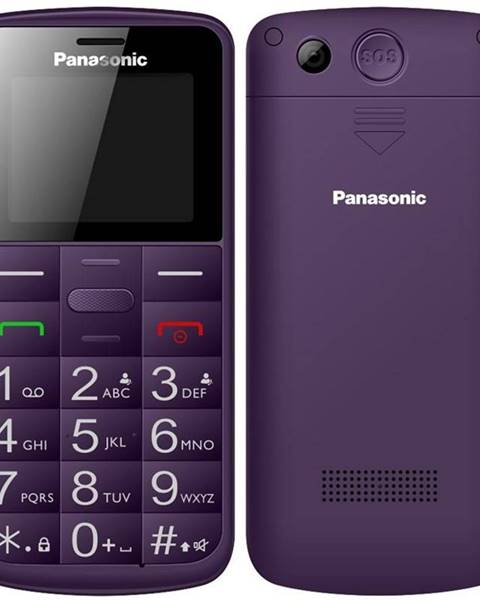 Panasonic Mobilný telefón Panasonic KX-Tu110exv Dual SIM fialový