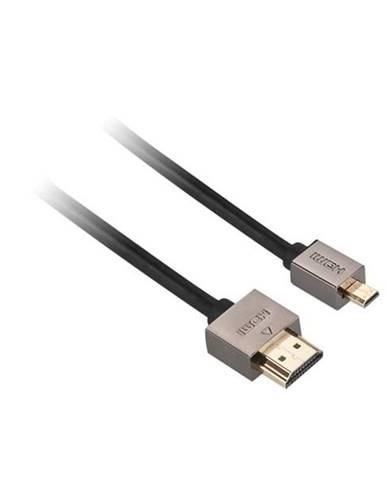 Kábel Gogen Hdmi / Hdmi micro, 1,5m, v1.4, pozlacený, High speed, s