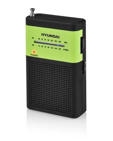 Rádioprijímač Hyundai PPR 310 BG čierny/zelen