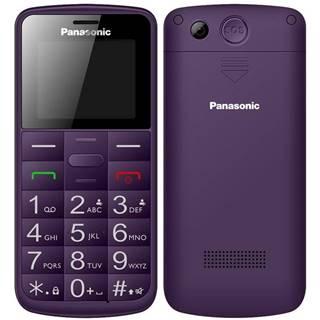Mobilný telefón Panasonic KX-Tu110exv Dual SIM fialový