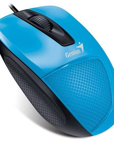 Myš  Genius DX-150X modrá / optická / 3 tlačítka / 1000dpi