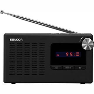 Rádioprijímač Sencor SRD 2215 čierny