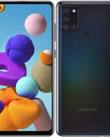 Mobilný telefón Samsung Galaxy A21s 32 GB čierny