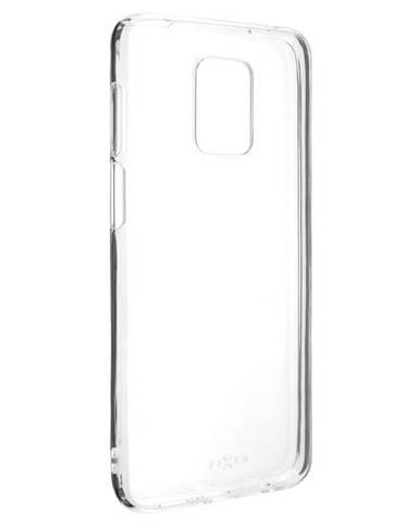 Kryt na mobil Fixed na Xiaomi Redmi Note 9 Pro priehľadný