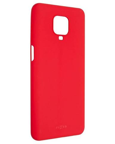 Kryt na mobil Fixed Story na Xiaomi Redmi Note 9 Pro červený