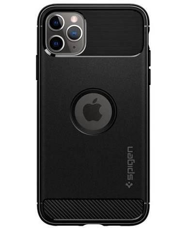 Kryt na mobil Spigen Rugged Armor na Apple iPhone 11 Pro čierny