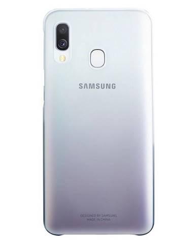 Kryt na mobil Samsung Gradation Cover na Galaxy A40 čierny