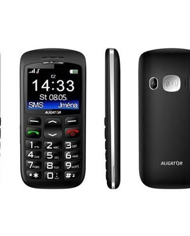 Mobilný telefón Aligator A670 Senior čierny