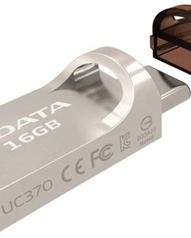 USB flash disk Adata UC370 16GB OTG USB-C/USB 3.1 zlatý